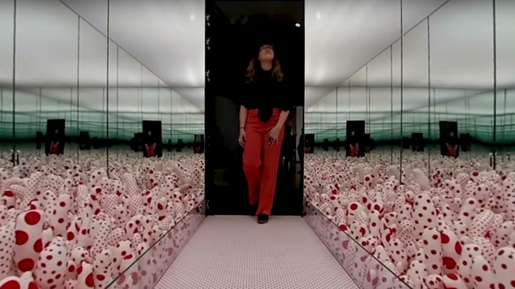 Yayoi Kusama in 360 degrees
